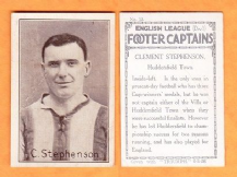 Huddersfield Town Clement Stephenson England